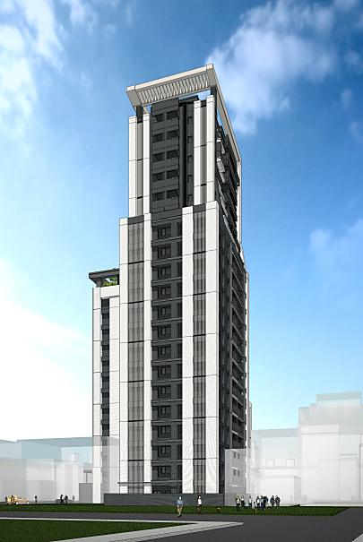 宸寶建設 台北市萬華區 直興段三小段新建工程