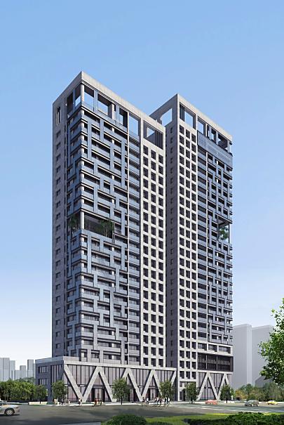 名發建設開發 台南市安平區 金城段49地號新建工程