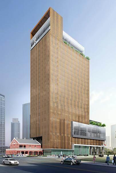 皇翔建設 台北市大同區 市府段三小段基地旅館新建工程