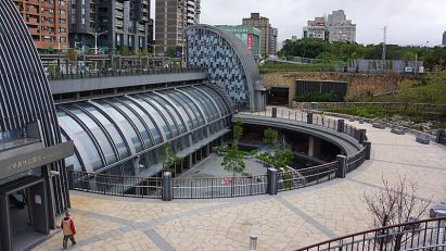 台北大眾捷運信義線大安森林公園站新建工程
