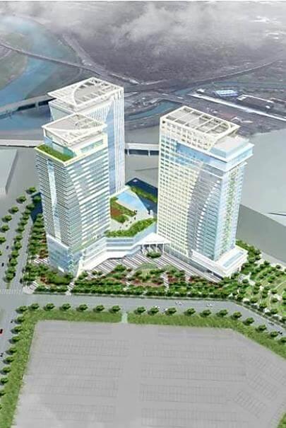 台灣肥料 台北市南港區 經貿段旅館新建工程