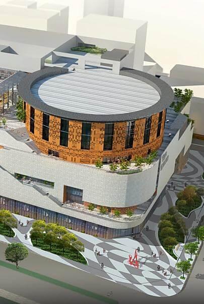 竹北新世紀購物中心 遠東新世紀開發竹北新世紀購物中心新建工程