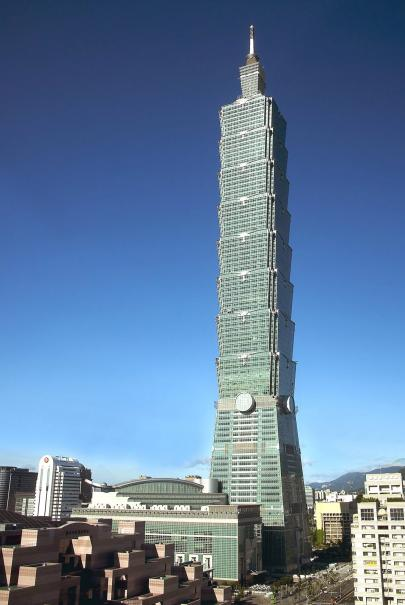 台北101金融大樓新建工程