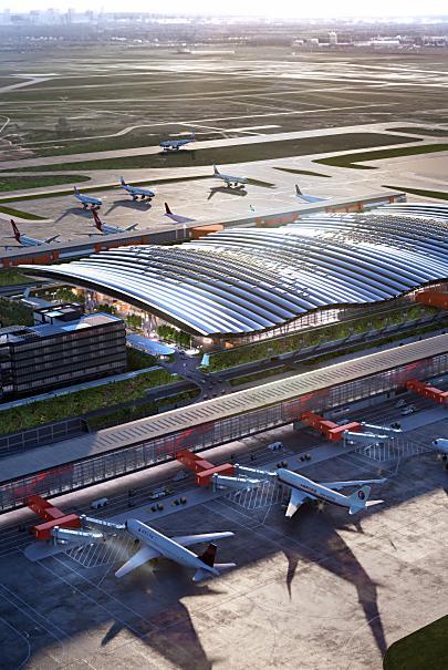 臺灣桃園國際機場第三航站區建設計畫 防災計畫書